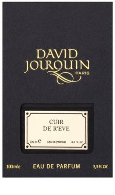David Jourquin Cuir de R´Eve eau de parfum para mujer 4