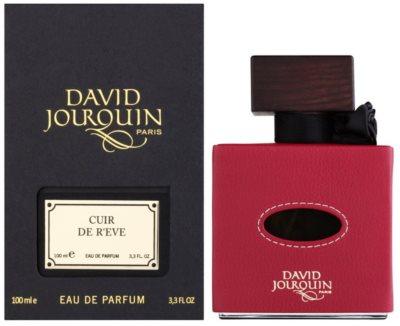 David Jourquin Cuir de R´Eve eau de parfum nőknek