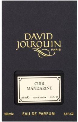 David Jourquin Cuir Mandarine парфюмна вода за мъже 4