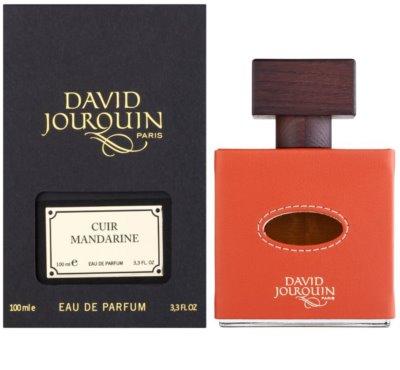 David Jourquin Cuir Mandarine Eau De Parfum pentru barbati