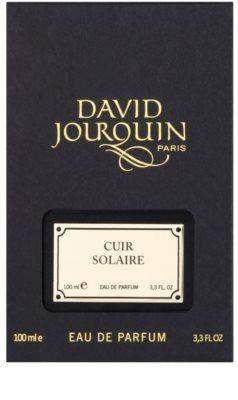 David Jourquin Cuir Solaire parfumska voda uniseks 4