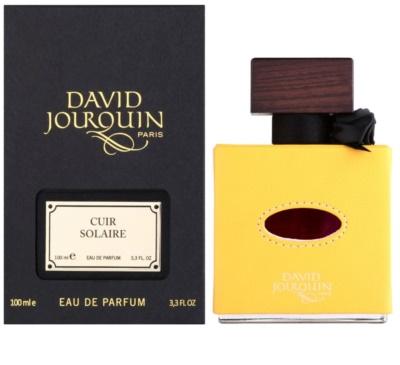 David Jourquin Cuir Solaire Eau de Parfum unissexo