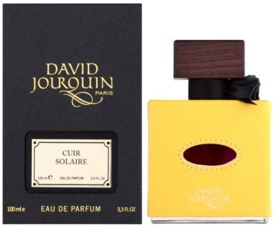 David Jourquin Cuir Solaire woda perfumowana unisex