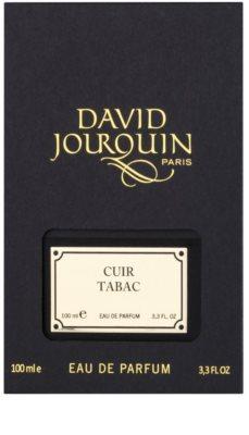 David Jourquin Cuir Tabac Eau de Parfum para homens 4