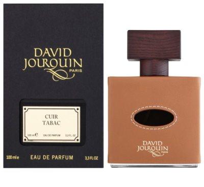 David Jourquin Cuir Tabac eau de parfum férfiaknak