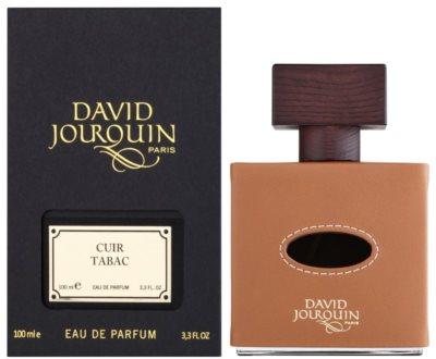 David Jourquin Cuir Tabac Eau de Parfum para homens