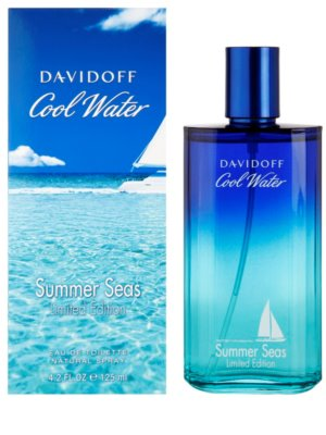 Davidoff Cool Water Summer Seas Eau de Toilette para homens