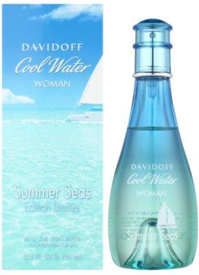 Davidoff Cool Water Woman Summer Seas 2015 toaletna voda za ženske