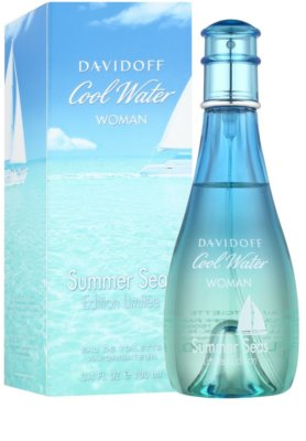 Davidoff Cool Water Woman Summer Seas 2015 Eau de Toilette für Damen 2