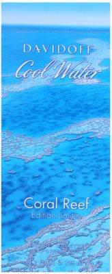 Davidoff Cool Water Coral Reef eau de toilette férfiaknak 4
