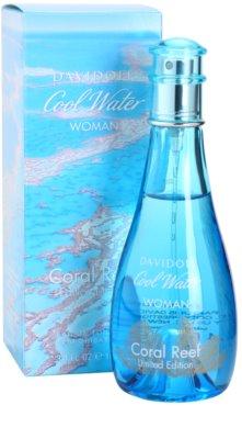 Davidoff Cool Water Coral Reef Eau de Toilette pentru femei 1