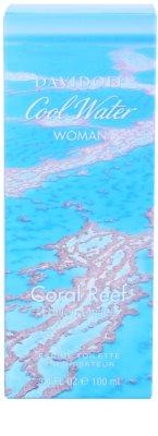 Davidoff Cool Water Coral Reef Eau de Toilette pentru femei 4