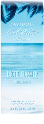 Davidoff Cool Water Woman Exotic Summer Limited Edition Eau de Toilette for Women 1