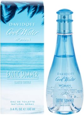 Davidoff Cool Water Woman Exotic Summer Limited Edition Eau de Toilette for Women