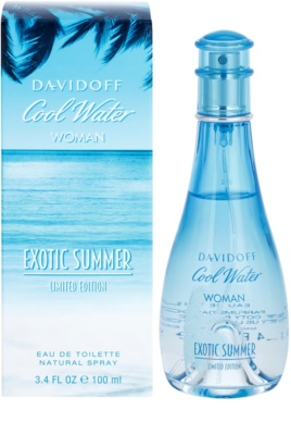 Davidoff Cool Water Woman Exotic Summer Limited Edition Eau de Toilette für Damen