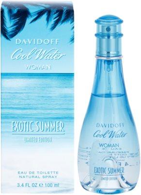 Davidoff Cool Water Woman Exotic Summer Limited Edition woda toaletowa dla kobiet