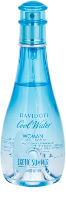 Davidoff Cool Water Woman Exotic Summer Limited Edition Eau de Toilette for Women 3