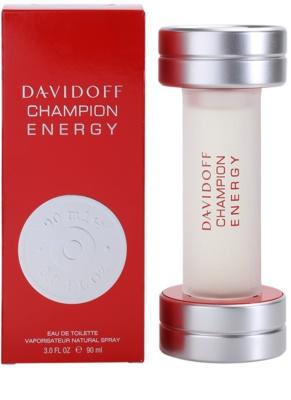 Davidoff Champion Energy toaletna voda za moške