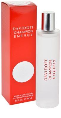 Davidoff Champion Energy loción after shave para hombre