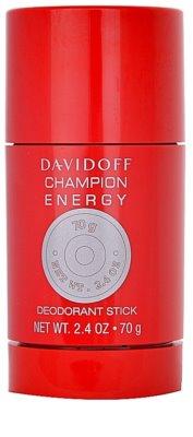 Davidoff Champion Energy desodorante en barra para hombre