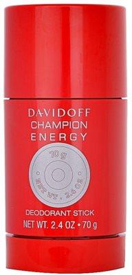 Davidoff Champion Energy дезодорант-стік для чоловіків