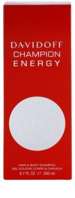 Davidoff Champion Energy Duschgel für Herren 3