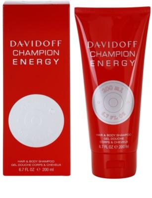 Davidoff Champion Energy gel za prhanje za moške