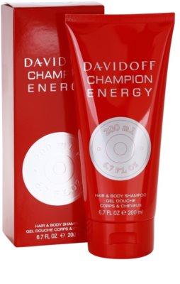 Davidoff Champion Energy Duschgel für Herren 1