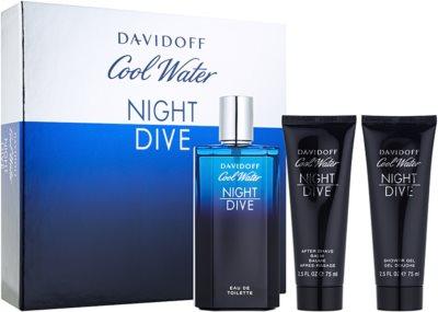 Davidoff Cool Water Night Dive coffret presente