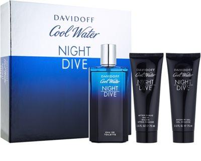 Davidoff Cool Water Night Dive set cadou