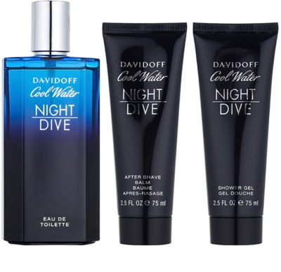 Davidoff Cool Water Night Dive zestaw upominkowy 1