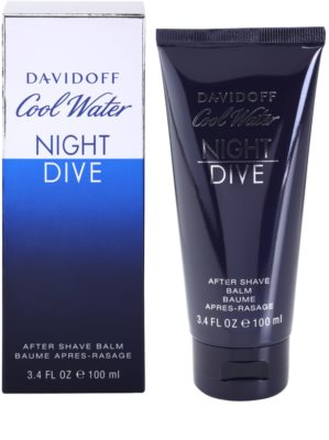Davidoff Cool Water Night Dive bálsamo after shave para hombre