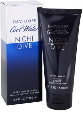 Davidoff Cool Water Night Dive bálsamo after shave para hombre 1