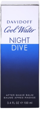 Davidoff Cool Water Night Dive bálsamo after shave para hombre 3