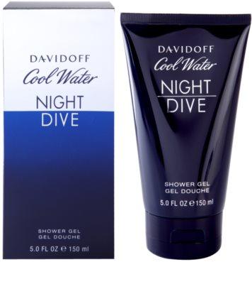 Davidoff Cool Water Night Dive gel de dus pentru barbati