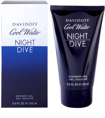 Davidoff Cool Water Night Dive гель для душу для чоловіків