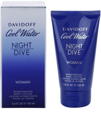 Davidoff Cool Water Night Dive testápoló tej nőknek