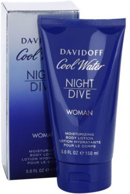 Davidoff Cool Water Night Dive testápoló tej nőknek 1