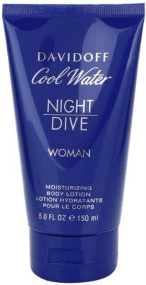 Davidoff Cool Water Night Dive testápoló tej nőknek 2