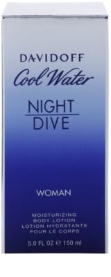 Davidoff Cool Water Night Dive testápoló tej nőknek 3