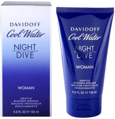 Davidoff Cool Water Night Dive Duschgel für Damen