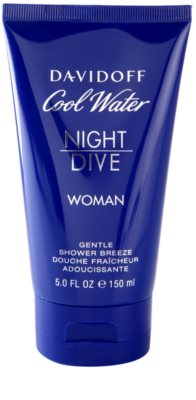 Davidoff Cool Water Night Dive gel de duche para mulheres 2