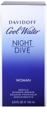 Davidoff Cool Water Night Dive gel de duche para mulheres 3