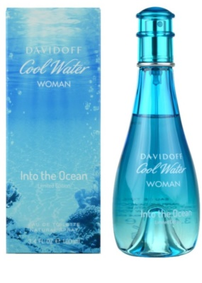 Davidoff Cool Water Woman Into the Ocean eau de toilette para mujer