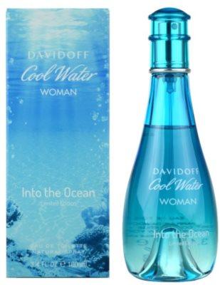 Davidoff Cool Water Woman Into the Ocean Eau de Toilette para mulheres