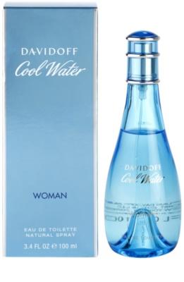 Davidoff Cool Water Woman eau de toilette nőknek