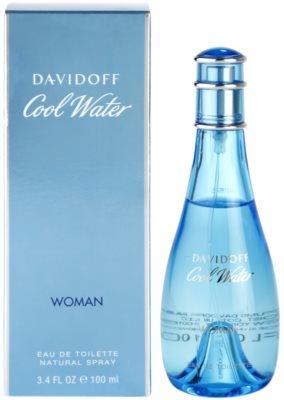 Davidoff Cool Water Woman Eau de Toilette pentru femei
