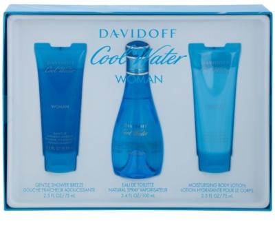 Davidoff Cool Water Woman lotes de regalo