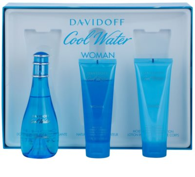 Davidoff Cool Water Woman coffrets presente 1