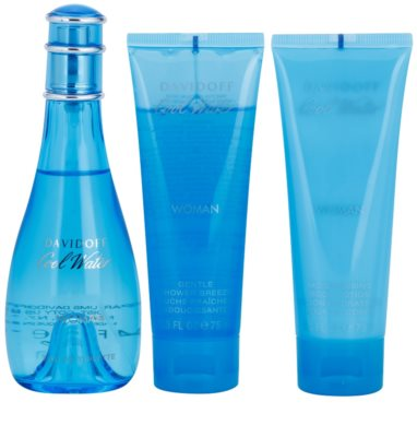 Davidoff Cool Water Woman coffrets presente 2